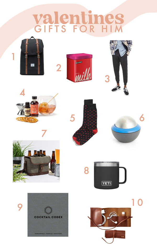 Valentine's Gift Ideas for your Man
