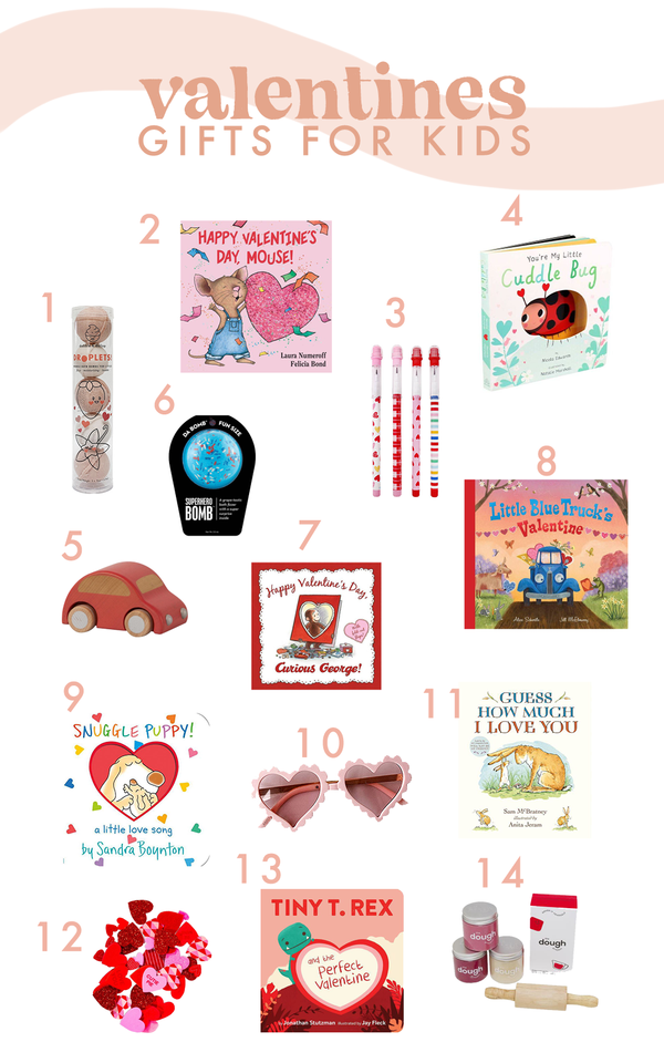 Valentine's Gift Ideas for your Kiddos