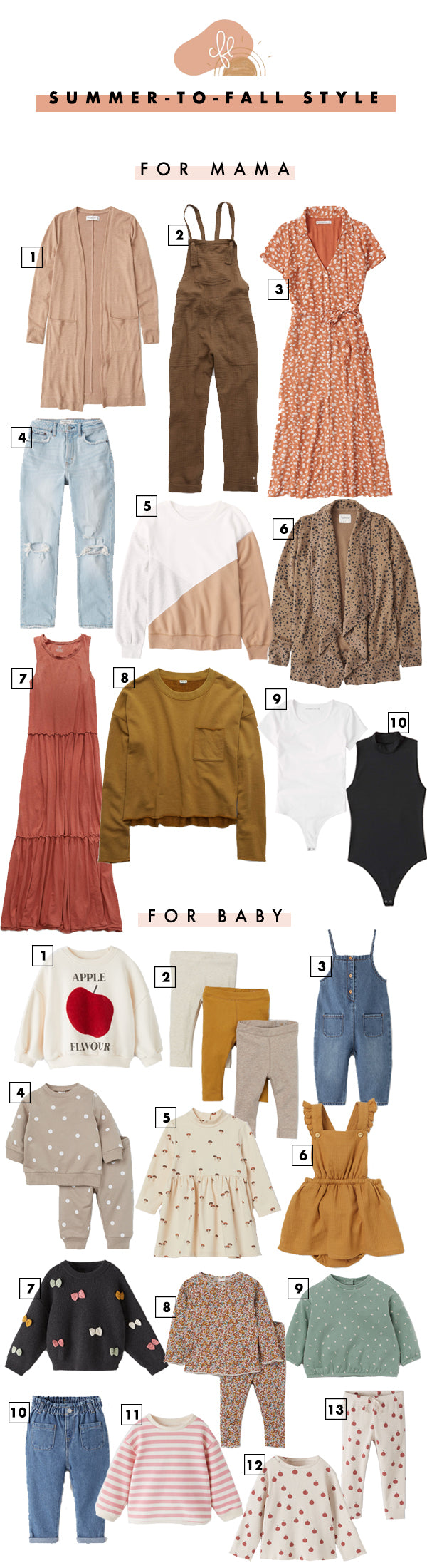 Mommy & Me Summer-To-Fall Style