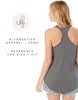 Bride Ladies' Shirttail Tank Top - Blush - Chalkfulloflove