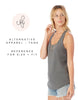Bride Ladies' Shirttail Tank Top - Blush