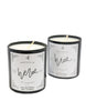 His + Hers Candle - Chalkfulloflove