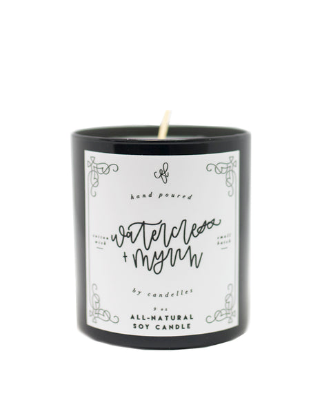 Watercress + Myrrh Candle - Chalkfulloflove