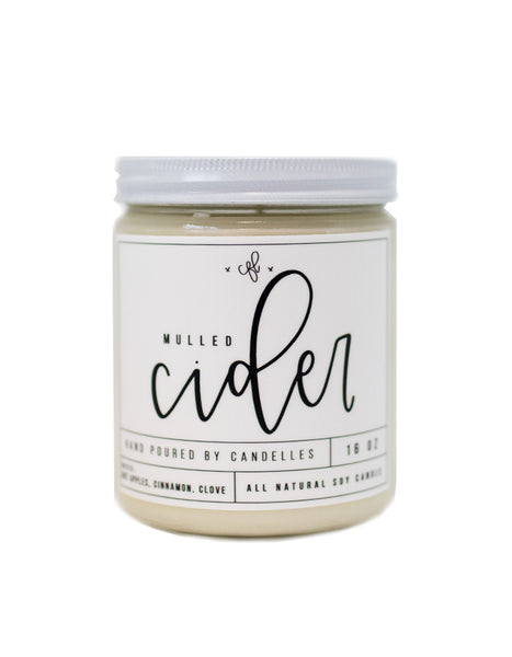 Mulled Cider Candle - Chalkfulloflove