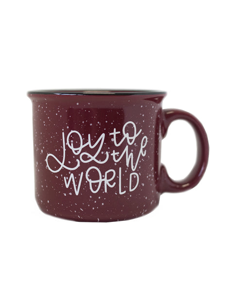 Joy to the World Camper Mug - Chalkfulloflove