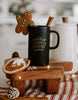 IMPERFECT Christmas Wishes + Mistletoe Kisses Mug - Chalkfulloflove