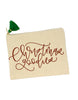 Christmas Goodies Pouch + Gift Tags - Chalkfulloflove