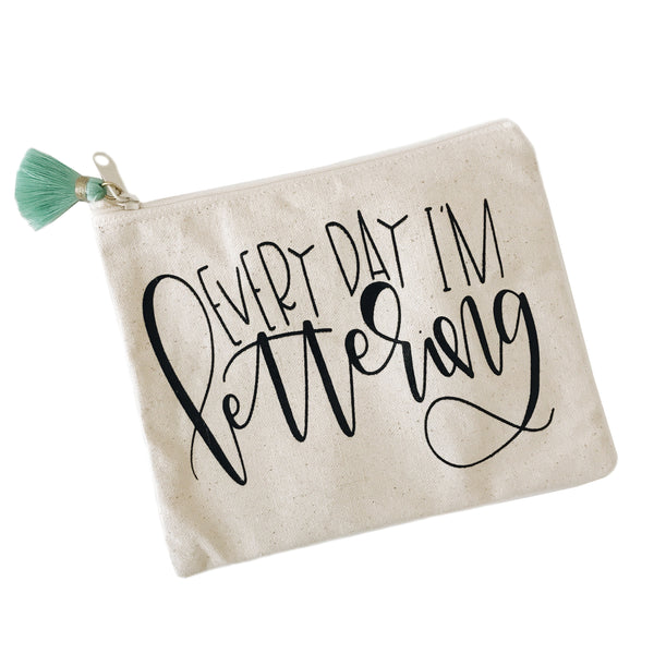 Every Day I'm Lettering Pouch