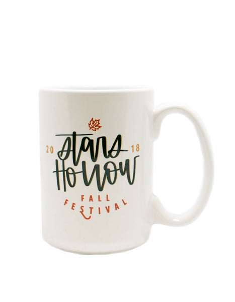 IMPERFECT Stars Hollow 2018 Fall Festival Mug - Chalkfulloflove