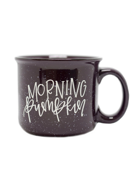IMPERFECT Morning Pumpkin Camper Mug - Chalkfulloflove