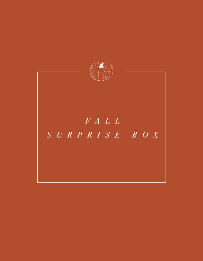 Fall Surprise Box 2019 - Chalkfulloflove