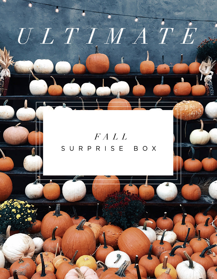 Fall Surprise Box - Ultimate - Chalkfulloflove