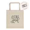 It's Fall Y'all Tote bag - Chalkfulloflove