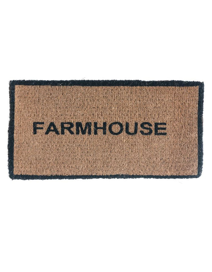 Farmhouse Doormat