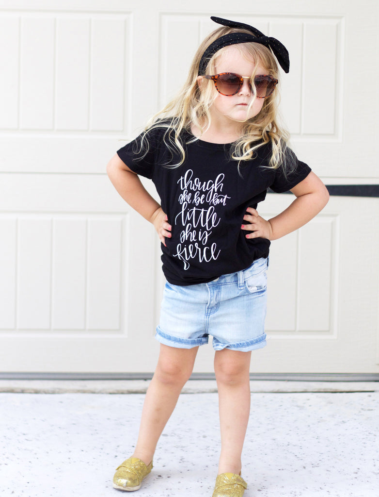 Fierce Girl's Shirt - Chalkfulloflove