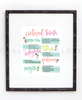 Cocktail Hour Print - Chalkfulloflove