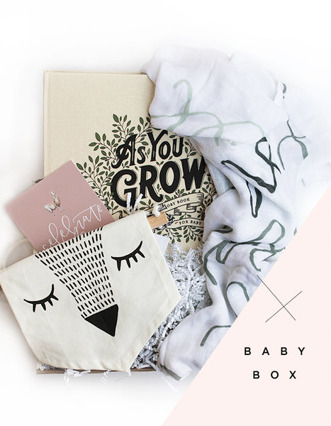 New Baby Surprise Box - Chalkfulloflove