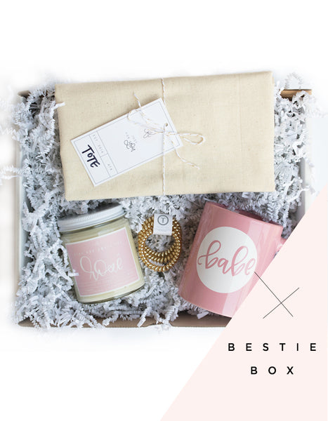 Bestie // Bridesmaid Surprise Box - Chalkfulloflove