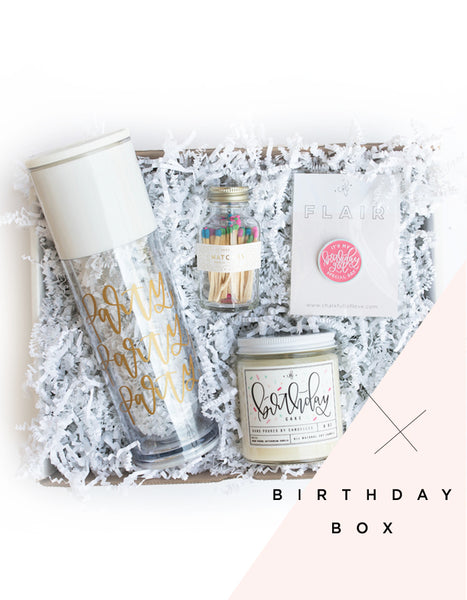 Birthday Mini Surprise Box - Chalkfulloflove