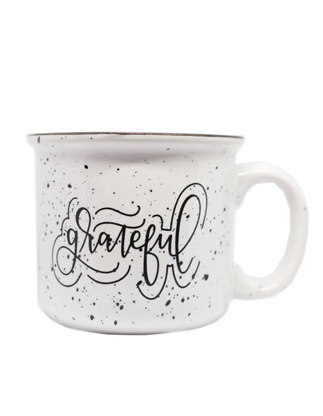 IMPERFECT Grateful Camper Mug
