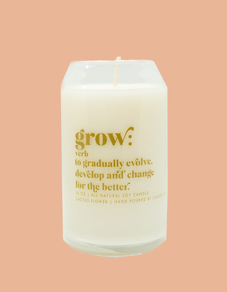 Grow Candle - Cactus Flower