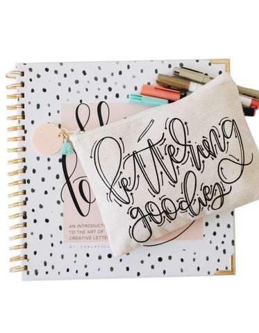 Hand Lettering 101 + Lettering Goodies Kit