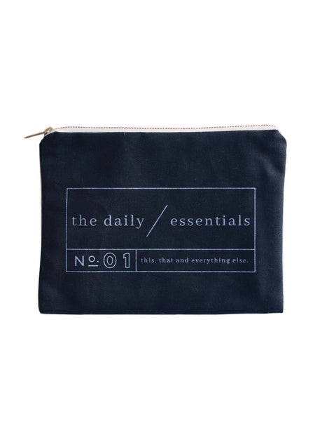 The Daily Essentials Pouch - Chalkfulloflove