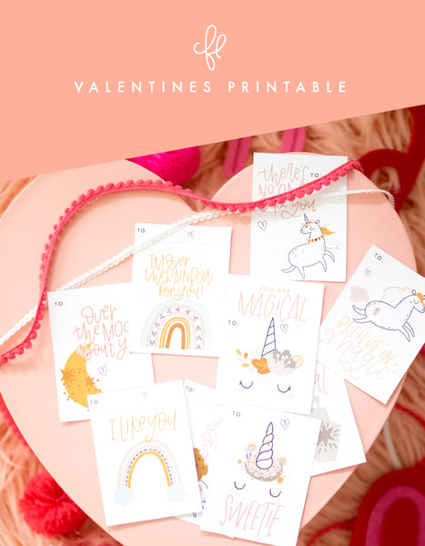 Kids Valentine Printable