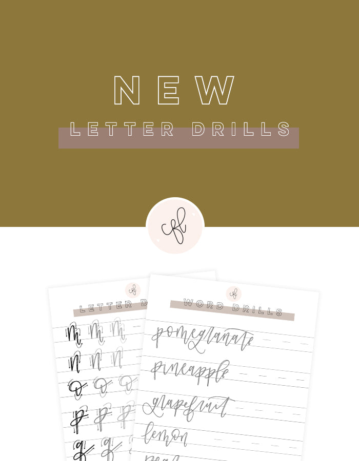 Letter Drills for iPad - NEW 2019 - Chalkfulloflove