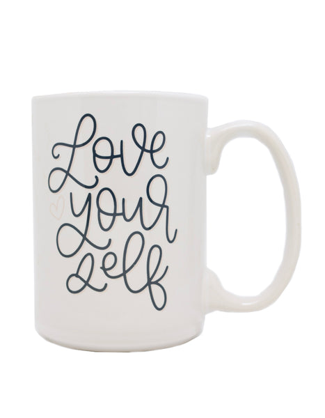 Love Yourself Mug - Chalkfulloflove