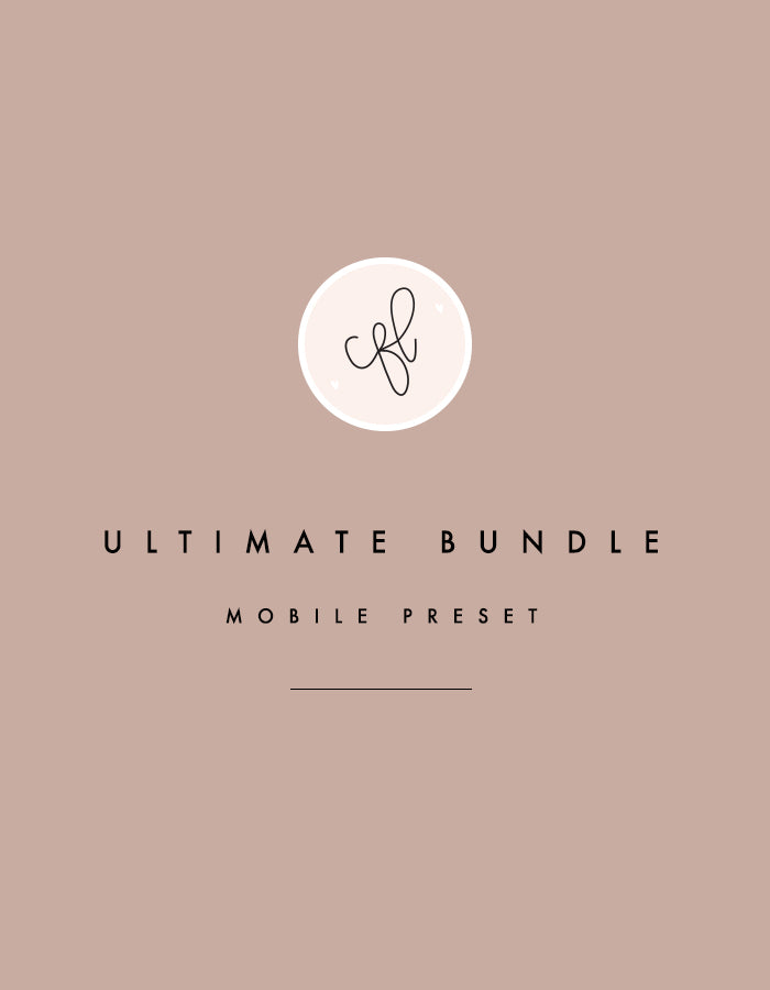 Mobile Presets - Ultimate Bundle - Chalkfulloflove