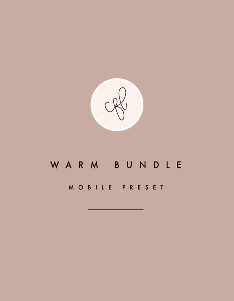 Mobile Presets - Warm Bundle - Chalkfulloflove