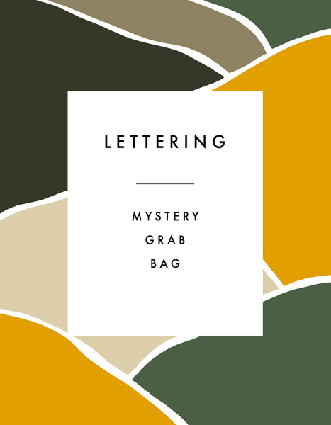 Mystery Grab Bag: Lettering Edition