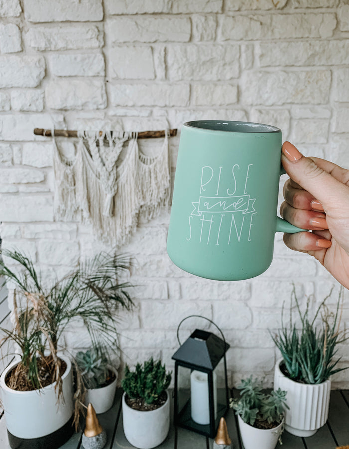 Rise and Shine Mug - Chalkfulloflove