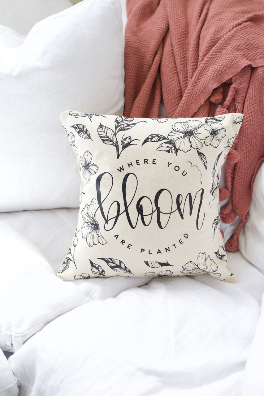 Bloom Pillow Cover - Chalkfulloflove