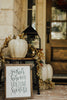 Gather Here Fall Decor Wood Sign