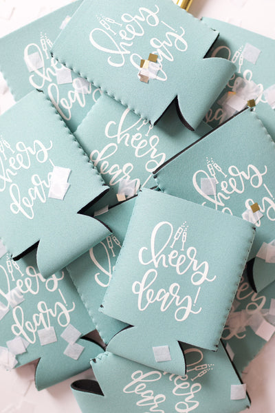 Cheers Dears Can Cooler - Chalkfulloflove