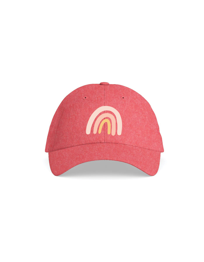 Rainbow Embroidered Hat