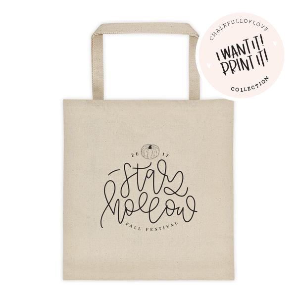 Stars Hollow Tote bag - 2017 Version
