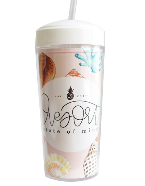 Resort State of Mind Thermos Tumbler - Chalkfulloflove