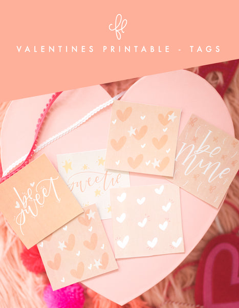 Valentine Printable - Tags