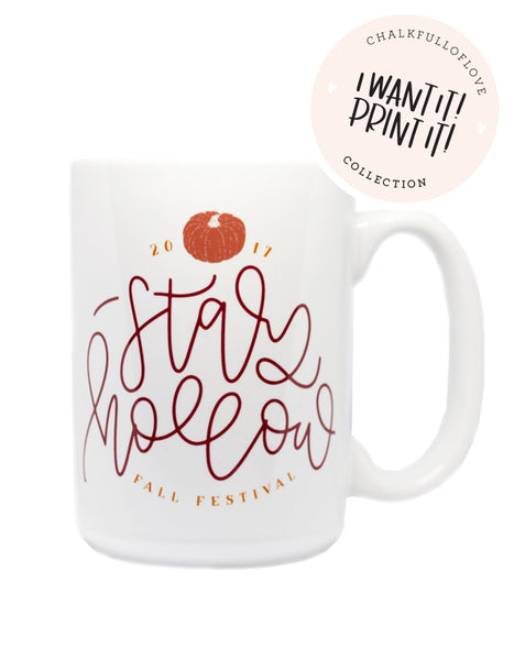 Stars Hollow Fall Festival Mug- 2017 Version - Chalkfulloflove