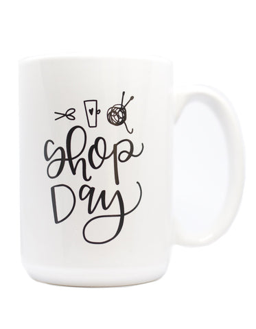 Shop Day Mug - Chalkfulloflove