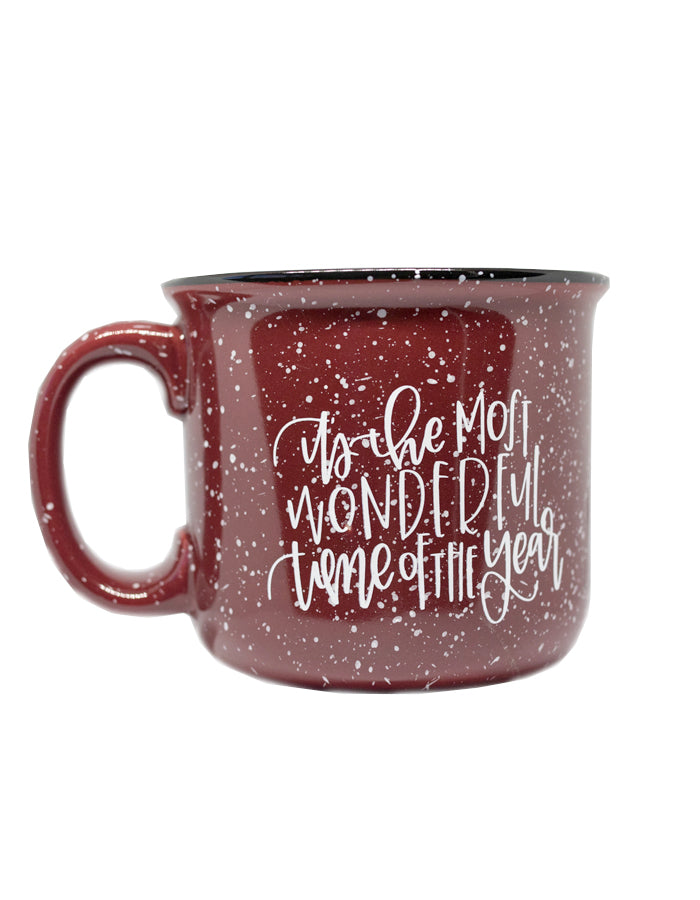 IMPERFECT It's the Most Wonderful Time of the Year Camper Mug