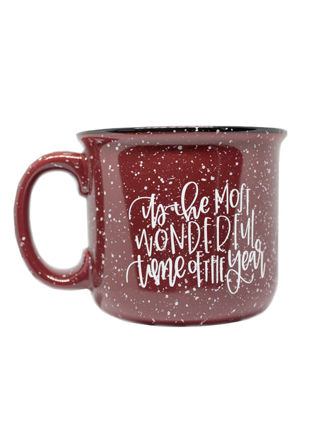 It's the Most Wonderful Time of the Year Camper Mug