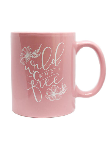 IMPERFECT: Wild and Free Blush Mug