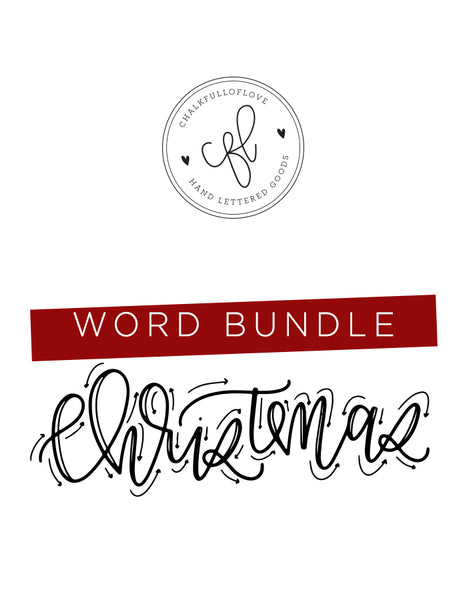 Word Bundle - Holiday Edition