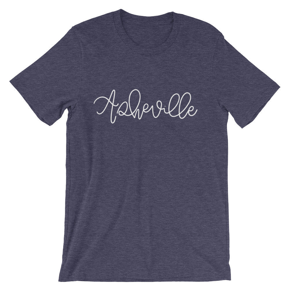 Asheville Unisex City Tee