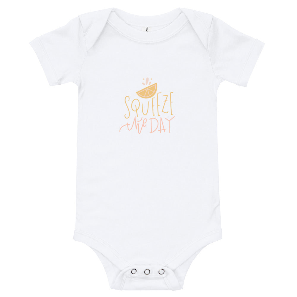 Squeeze the Day Onesie - Chalkfulloflove