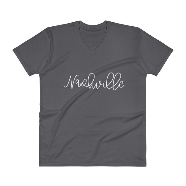 Nashville Unisex V-Neck City Tee